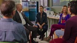 Buddy Telford, Sonya Rebecchi, Myra Blumberg in Neighbours Episode 7606