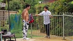 Aaron Brennan, David Tanaka in Neighbours Episode 7606