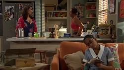 Dipi Rebecchi, Mishti Sharma, Kirsha Rebecchi in Neighbours Episode 7606