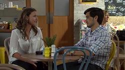 Amy Williams, David Tanaka in Neighbours Episode 7606