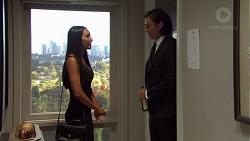 Mishti Sharma, Leo Tanaka in Neighbours Episode 7606