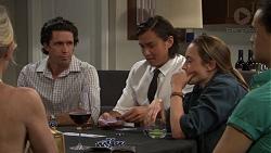 Phillip Hedgeman, Leo Tanaka, Sonya Mitchell in Neighbours Episode 7607