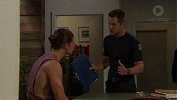 Tyler Brennan, Mark Brennan in Neighbours Episode 7607