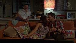 Toadie Rebecchi, Dipi Rebecchi, Shane Rebecchi in Neighbours Episode 7607