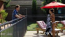 Shane Rebecchi, Mishti Sharma in Neighbours Episode 7608