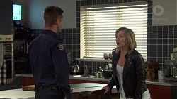 Mark Brennan, Steph Scully in Neighbours Episode 7608