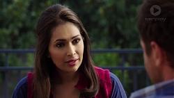 Mishti Sharma, Shane Rebecchi in Neighbours Episode 7608