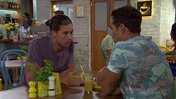 Tyler Brennan, Aaron Brennan in Neighbours Episode 7608