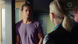 Tyler Brennan, Ellen Crabb in Neighbours Episode 7608