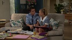 Ben Kirk, Xanthe Canning in Neighbours Episode 7608