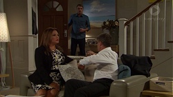 Gary Canning, Terese Willis, Paul Robinson in Neighbours Episode 7609