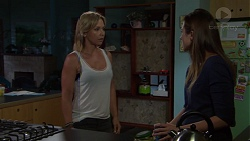 Steph Scully, Sonya Mitchell in Neighbours Episode 7609