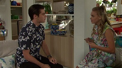 Ben Kirk, Xanthe Canning in Neighbours Episode 7610