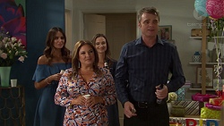 Elly Conway, Terese Willis, Amy Williams, Gary Canning in Neighbours Episode 7610
