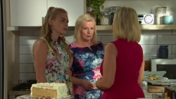 Xanthe Canning, Sheila Canning, Brooke Butler in Neighbours Episode 7610