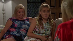 Sheila Canning, Xanthe Canning, Brooke Butler in Neighbours Episode 7610