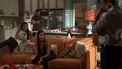 Yashvi Rebecchi, Shane Rebecchi, Mishti Sharma, Toadie Rebecchi in Neighbours Episode 7611