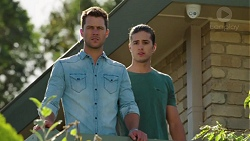 Mark Brennan, Tyler Brennan in Neighbours Episode 7611