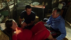 Paige Novak, Jack Callaghan, Karl Kennedy in Neighbours Episode 7612