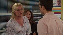 Lauren Turner, Terese Willis, Jack Callaghan in Neighbours Episode 7614