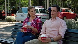 Amy Williams, Jack Callaghan in Neighbours Episode 7614