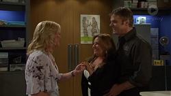 Lauren Turner, Terese Willis, Gary Canning in Neighbours Episode 7614