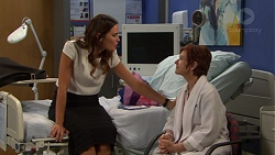 Elly Conway, Susan Kennedy in Neighbours Episode 7614