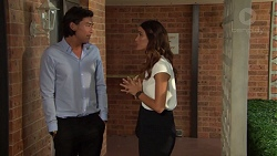 Leo Tanaka, Elly Conway in Neighbours Episode 7614