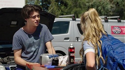 Ben Kirk, Xanthe Canning in Neighbours Episode 7615
