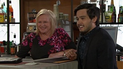 Sheila Canning, David Tanaka in Neighbours Episode 7615