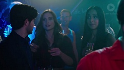 David Tanaka, Amy Williams, Mishti Sharma in Neighbours Episode 7615