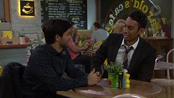 David Tanaka, Tom Quill in Neighbours Episode 7615