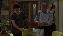 Ben Kirk, Karl Kennedy in Neighbours Episode 7616