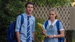 Ben Kirk, Xanthe Canning in Neighbours Episode 7616