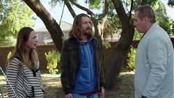 Sonya Mitchell, Darren Lindsay, Toadie Rebecchi in Neighbours Episode 7616