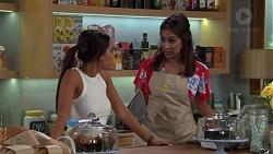 Mishti Sharma, Dipi Rebecchi in Neighbours Episode 7617