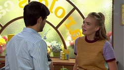 David Tanaka, Xanthe Canning in Neighbours Episode 7617