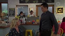 Lauren Turner, Mishti Sharma, Jack Callaghan in Neighbours Episode 7617