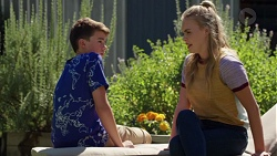 Jimmy Williams, Xanthe Canning in Neighbours Episode 7617
