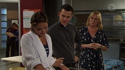 Paige Novak, Jack Callaghan, Lauren Turner in Neighbours Episode 7618