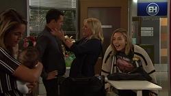 Paige Novak, Gabriel Smith, Jack Callaghan, Lauren Turner, Piper Willis in Neighbours Episode 7618