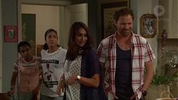 Kirsha Rebecchi, Yashvi Rebecchi, Dipi Rebecchi, Shane Rebecchi in Neighbours Episode 7619