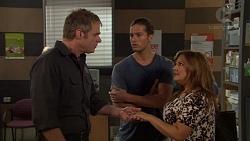 Gary Canning, Tyler Brennan, Terese Willis in Neighbours Episode 7619