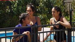 Kirsha Rebecchi, Mishti Sharma, Yashvi Rebecchi in Neighbours Episode 7619