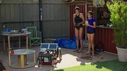 Yashvi Rebecchi, Kirsha Rebecchi in Neighbours Episode 7619