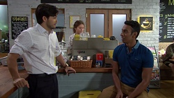 David Tanaka, Tom Quill in Neighbours Episode 7620