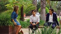 Amy Williams, David Tanaka, Leo Tanaka in Neighbours Episode 7620