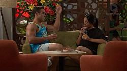 Aaron Brennan, Mishti Sharma in Neighbours Episode 7620