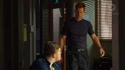 Callum Jones, Mark Brennan in Neighbours Episode 7621