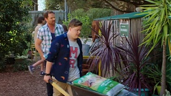 Shane Rebecchi, Callum Jones in Neighbours Episode 7621